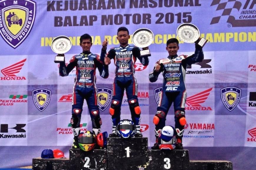 Yamaha Kembali 'merampok' Juara di Semua Kelas