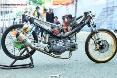 Bebek 4tak TU 130cc Lokal, Jawara Open !