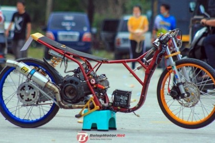 Dragbike Pangkal Pinang 2018: Matic 200 Vidal Speed Shop
